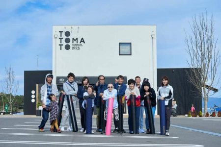 ポーザー式スラックライン体験教室 in totomato